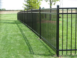 iron green bay fences