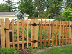 picket green bay fences